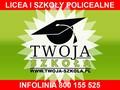logo Prywatne  Liceum Ogólnokształcące dla Dorosłych, Prywatna Szkoła Policealna dla Dorosłych TWOJA - SZKOŁA